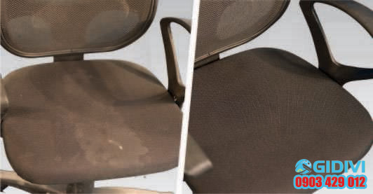 Dịch vụ giặt ghế văn phòng GiDiVi